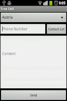 Screenshot of Free SMS App