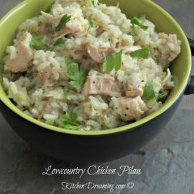 Lowcountry Chicken Pilau