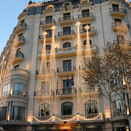 Hotel Majestic Barcelona, Spain by Mary Gemignani - Buildings & Architecture Office Buildings & Hotels (  )