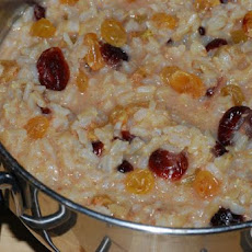 Creamy Brown Rice Pudding