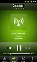 Screenshot of Ganam Malayalam Radio