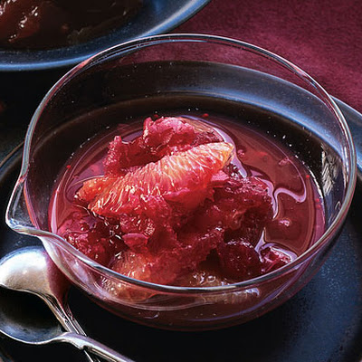 Cranberry and Blood Orange Relish