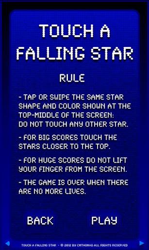 【免費街機App】Touch A Falling Star Free-APP點子