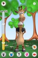 Screenshot of Talking Gina the Giraffe Free