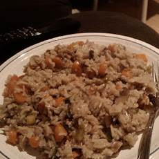 Tvp Mushrooms Rice Casserole