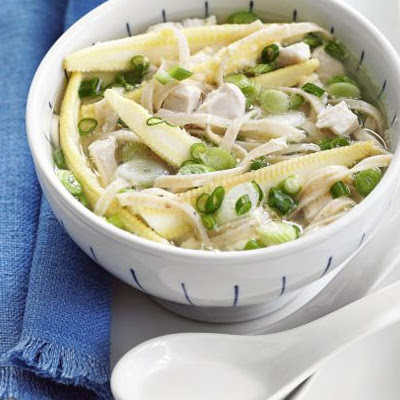 Egg Drop Chicken Noodle Soup