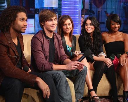 """The Cast of """"High School Musical 3"""" - Corbin Bleu, Zac Efron, As"""