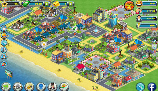 Game City Island 2 - Building Story: Sim Town Builder apk for kindle fire