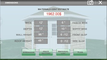 Screenshot of Udesignit 3D Garage Shed