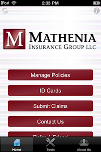 Mathenia Insurance - screenshot