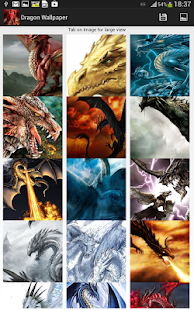 Dragon Wallpapers for tablet - screenshot