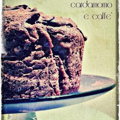 Chocolate, Cardamom, and Coffee Cake