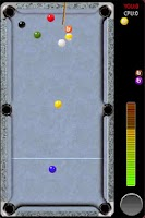 Screenshot of pool 9 ball for all