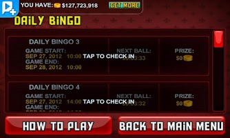 Screenshot of Bingo LIVE!