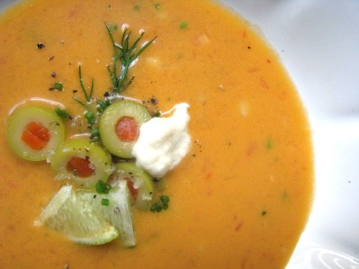 Bloody Mary-Flavored Gazpacho