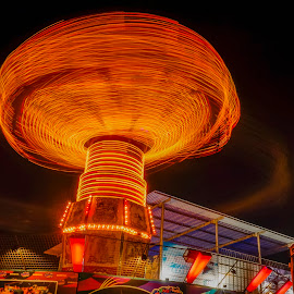 caoursel by Adang Yusuf - Abstract Light Painting