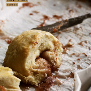 JAM ROLY POLY SCONES