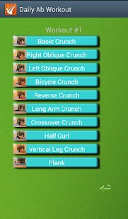 Daily Ab workout - screenshot