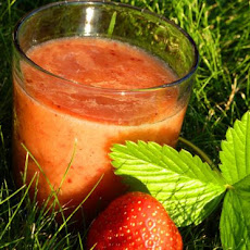 Peach Strawberry Smoothies