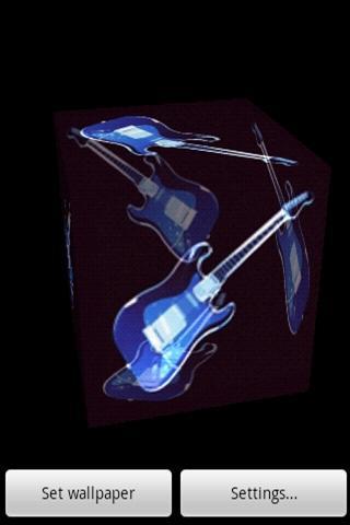 3D吉他001