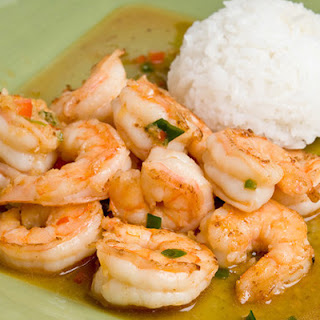 Thai Ginger & Sweet Red Chili Shrimp