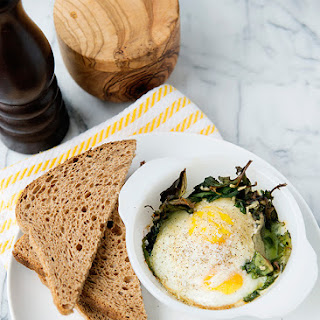 Baked Egg and Kale Cups