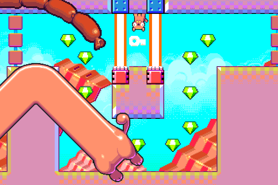 Silly Sausage in Meat Land Screenshot 4