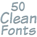 Fonts for FlipFont 50 Clean 3.6.10 Apk