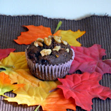 Apple Cocoa Muffins