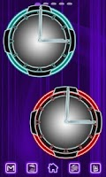Screenshot of Neon Clock Collection
