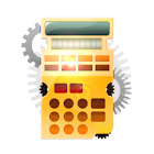 Steampunk Calculator HD icon