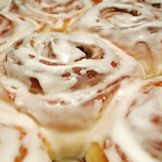 Cinnamon Rolls (made with cake mix)