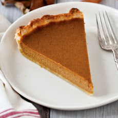 Drunken Pumpkin Bourbon Tart Recipe