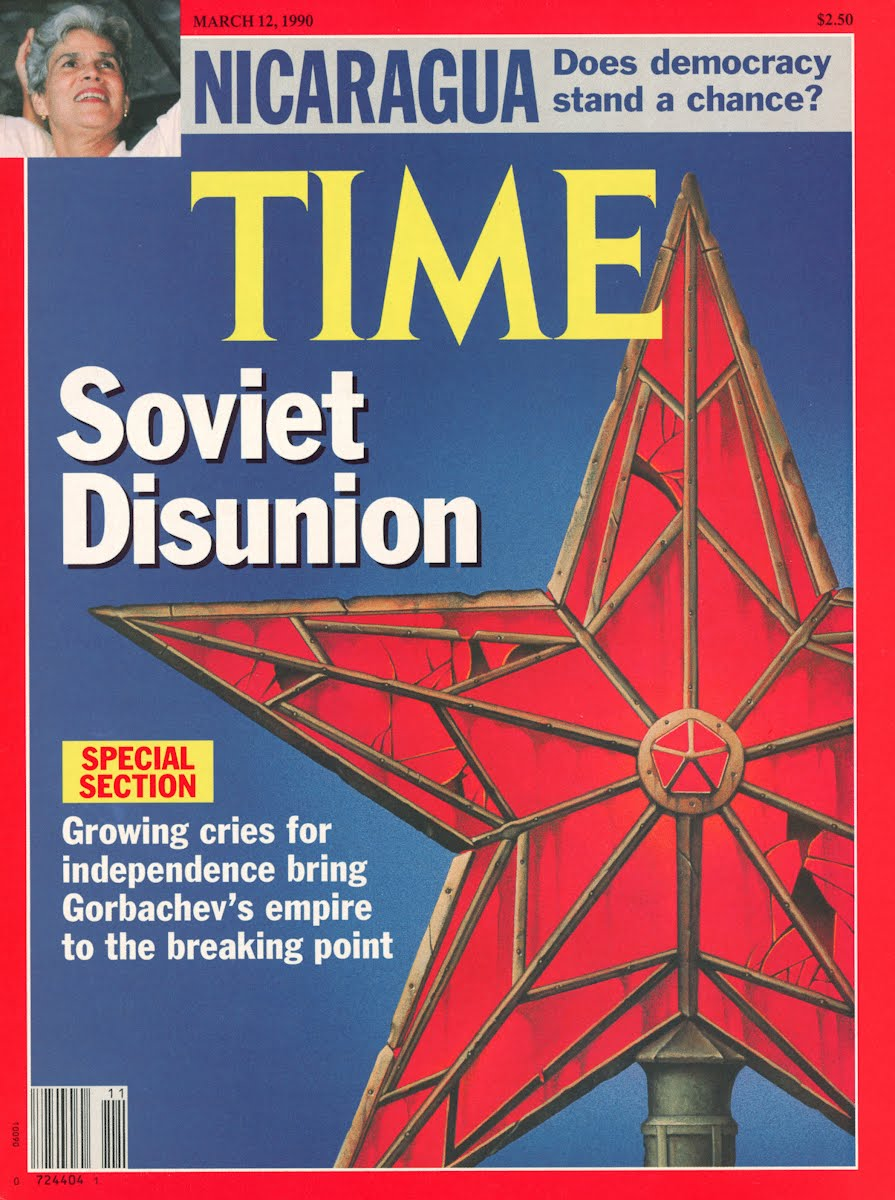 Soviet Disunion was becoming more apparent