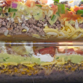 Classic From-a-Can 7-Layer Dip