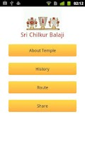 Screenshot of Lord Chilkur Balaji