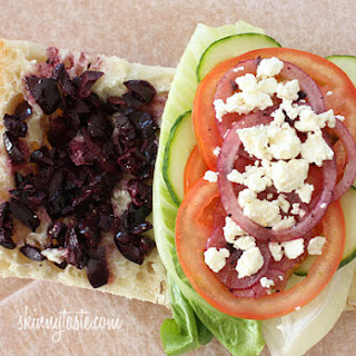 Tomato Cucumber Feta Sandwich Recipes