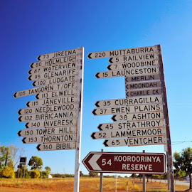 Signs by Tommy Miura - Transportation Roads