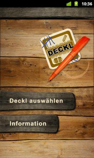 Deckl - DAS Bierdeckel Tool