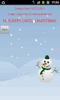Screenshot of Countdown to Christmas