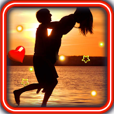 Sunset Kisses live wallpaper
