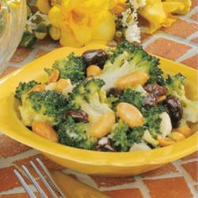 Sweet-Sour Broccoli Salad