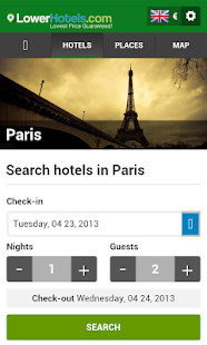 Paris Hotels - screenshot