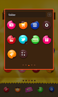 Screenshot of Choco-choco dodol theme