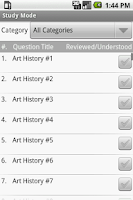 Screenshot of AP Art History Exam Prep