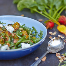 Roasted Golden Beet Salad with Tarragon Dressing