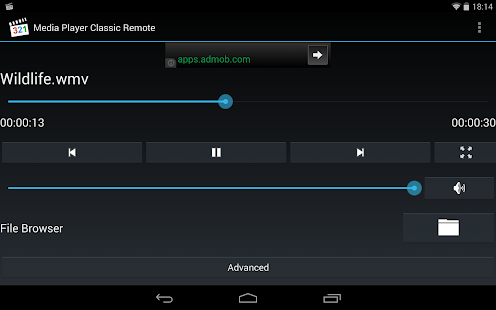 Media Player Classic Remote