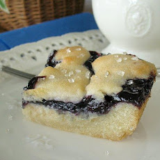 Blueberry Dessert Bars