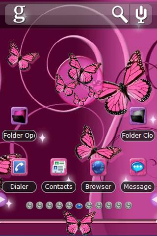 Pink Butterfly Theme PANDAHOME