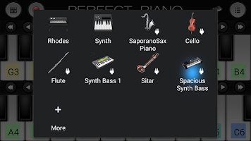 Screenshot of Space Synth Bass Sound Plugin